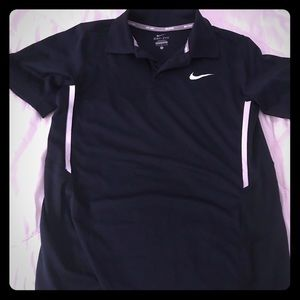 Nike tennis dri fit shirt size large